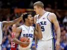 Second Place | SportsMark Dolejs, Daily DispatchDuke's Quinn Cook and Mason Plumlee react near the end of their game against North Carolina State.