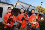 First Place | PortraitGray Whitley, The Wilson TimesFeb. 6, 2013 - Wilson County 4-H Shooting Club members Wooten Dougherty, 17, Brandon Matthews, 15, and Corey Lane, 17, will be participating in the 2013 National 4-H Shooting Sports Invitational in Grand Island, Nebraska.