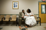 Third Place | Multiple PhotosJames Robinson, The Fayetteville ObserverLarry and Shedricka McNeill were high school sweethearts who separated for 20 years and got married at the Magistrates office in the Cumberland County Detention Center Thursday February 14, 2013.