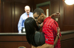 Third Place | Multiple PhotosJames Robinson, The Fayetteville ObserverMichael and Patrice Duncan have been together for 5 years they got married at the Magistrates office in the Cumberland County Detention Center Thursday February 14, 2013.