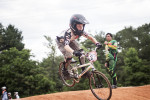 First Place | Multiple PhotosMelissa Melvin-Rodriguez, The Fayetteville ObserverAllen Parsons, 12, catches air as he runs through an exercise practicing pumps combined with speed during a skills clinic at the BMX park at Tanglewood.