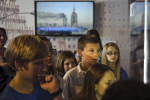 Second Place | General  NewsJames Robinson, The Fayetteville ObserverAlex Himmelhaver and other students from Albritton Middle School were the first to get to tour the new mobile 9/11 museum Wednesday morning.1