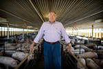 Honorable Mention I PortraitAndrew Craft, The Fayetteville ObserverJudges Comments: The honorable mention image is a great example of how to use ambient light to your advantage, but we felt the expression was a little awkward compared to the rest of the photographs. Tom Butler, owner of Butler Farms in Harnett County, is among the farmers who are skeptical about the sale of Smithfield Foods to a Chinese company. 'We have a little bit of mistrust for what their intentions are,' Butler says of the Chinese buyers.