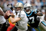 Honorable Mention I SportsLauren Carroll, Winston-Salem JournalWe can feel the pain that is about to be dispensed. The quarterback however, does not. Perhaps a bit tighter of a crop. You really don't need the defending lineman's arm at left. He's not doing a very good job anyway. Saints quarterback Drew Brees is about to be sacked by Panthers safety Quintin Mikell during the first half of the game in Charlotte Sunday, December 22, 2013.