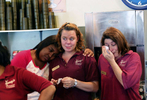 POY: Runner UpTravis Long, The News & ObserverEmployees from left, Fabienne Sewell, Lauren Emorey and Susan Perry become emotional after Honey's Restaurant and Catering, a 24-hour diner in Durham, closed its doors for the last time at 3 p.m. Sunday after serving the Bull City for more than 50 years.