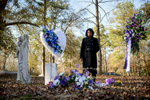 Photographer of the Year: Runner UPAndrew Craft, The Fayetteville ObserverClaudia Lacy looks down at the grave of her son, Lennon Lacy, Sunday, Dec. 14, 2014, at Old Shaw-Lacy Field Cemetery in Bladenboro, N.C. Lennon Lacy, a 17-year-old black teenager, was found dead on Aug. 29, 2014, hanging from a swing set in a trailer park in the rural community. Police ruled the death a suicide, but his family believe it was murder.