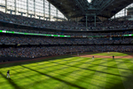 Student Photographer of the Year: Runner UpRay Whitehouse, UNC Chapel HillThe huge windows and retractable roof create long shadows at Miller Park in Milwaukee, WI.