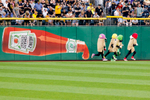Student Photographer of the Year: Runner UpRay Whitehouse, UNC Chapel HillThe Pittsburgh Pirates Pierogies race at the end of the 5th inning at PNC Park in Pittsburgh, PA.
