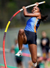 Sports Photographer of the Year Jerry Wolford, News & Record (Greensboro)Ragsdale\'s Chesney Moore competes in the pole vault at the Guilford County Championship Track & Field Championship Meet held at Northern Guilford High School on Saturday, April 26, 2014, in Summerfield, N.C.
