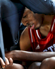 Sports Photographer of the Year Jerry Wolford, News & Record (Greensboro)North Carolina State head coach Mark Gottfried leans close to North Carolina State star player T.J. Warren (24), holds his hand, and offers encouragement in the closing seconds in team\'s loss to Duke in the semifinals game.