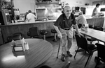 First Place | Multiple PhotosJerry Wolford, News & RecordClarence {quote}Pop{quote} Tart, who says he has been eating at the Church Street Drive-In for more than 50 years, makes his way to his table.