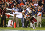 Honorable Mention I SportsGerry Melendez, The StateJudges Comments: Honorable mentionAuburn Tigers defensive back Jonathan Jones (3) makes an acrobatic interception in front of South Carolina Gamecocks wide receiver Shaq Roland (4) in the second half of their game at Jordan–Hare Stadium in Auburn, AL, Saturday, October 25, 2014.
