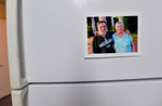 Second Place | Multiple PhotosMykal McEldowney, The Greenville NewsA portrait of Steve and Mary is posted on their new refrigerator inside United Housing Connections' Restore A Home project, 10 Zarline St., in Greenville on Friday, October 3, 2014. The portrait was taken while the Payne's lived in Tent City, a homeless camp under a bridge in Greenville.