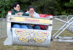 Third Place | Multiple PhotosAdam Jennings, Rocky Mount TelegramEstela Sanchez, left, and Veronica Sanchez ride the Scrambler ride on Monday, Oct. 6, 2014, during the first night of the Rocky Mount Fair.