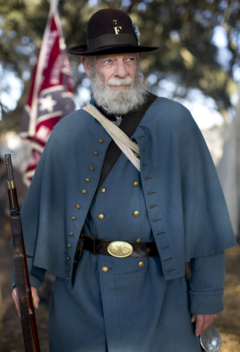 First Place | Multiple PhotosJill Knight, News & ObserverReenactors pose for portraits following their battle scenario during Fort Fisher\'s 150th Anniversary on Saturday, January 17, 2015 in Kure Beach, N.C.