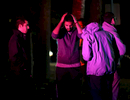 Honorable Mention I Spot NewsAl Drago, Elon UniversityPeople await to hear details surrounding a shooting that killed three people near Summerwalk Circle in Chapel Hill. Police responded to reports of gunshots at 5:15 p.m. Students Deah Shaddy Barakat, 23, and his wife Yusor Abu-Salha, 21, and Abu-Salha\'s sister, Razan Abu-Salha, 19 were all found murdered. Their neighbor, Craig Stephen Hicks, 46, is being held on three counts of first-degree murder.