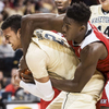 Honorable Mention I SportsAndrew Dye, Winston-Salem JournalWake Forest junior forward Devin Thomas (2) battles NC State freshman forward Abdul-Malik Abu (0) for a rebound on Tuesday, Feb. 3, 2015 in Winston-Salem, N.C.