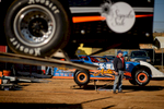 Second Place | Multiple PhotosAndrew Craft, The Fayetteville ObserverCars get unloaded and worked on before the races start Saturday, March 28, 2015, at Fayetteville Motor Speedway in Fayetteville, N.C.