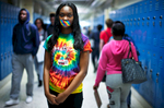 Third Place | PortraitJerry Wolford, News & RecordTanasia Jones-Morton, 16, wears tape over her mouth for the National Day of Silence, Friday, April 17, 2015, in Greensboro, N.C. Friday is the National Day of Silence. http://www.dayofsilence.org/ Some students at Northeast Guilford High School are participating. Many students signified their participation by wearing rainbow colored tape or surgical masks over their mouths.