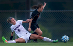 Third Place | SportsRob Brown, News & RecordNorthern Guilford's  Morgan Helms stretches out for a ball against Orange's Lexi Moyer, Friday, May 15, 2015, at Northern Guilford High School. Northern won 2-1.