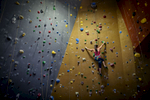First Place | SportsAndrew Craft, The Fayetteville ObserverNatalia Ramos climbs a wall Tuesday, June 16, 2015, at Triangle Rock Club in Fayetteville, N.C.