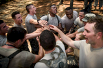 First Place | Multiple PhotosAndrew Craft, The Fayetteville ObserverSoldiers, from the 261st Multifunctional Medical Battalion, celebrate after completing the Spearhead Medic Challenge Thursday, June 18, 2015, on Fort Bragg.