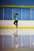Third Place | Multiple PhotosJoe Pellegrino, The Daily ReflectorCaitlin Phipps spins on the ice at Carolina Ice Zone on Monday.