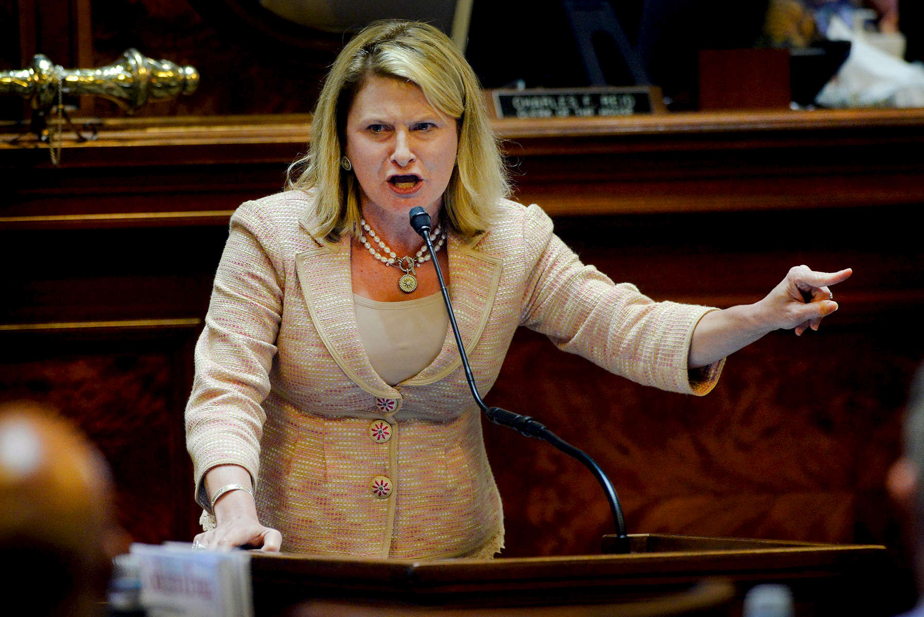 First Place | Multiple PhotosMykal McEldowney, The Greenville NewsRep. Jenny Horne gives an emotional testimony in favor of removing the Confederate flag from Statehouse grounds on Wednesday, July 8, 2015. {quote}If you don't remove that flag you are telling the people of Charleston that you don't care about them,{quote} Horne said.