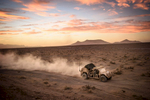 Second Place | Multiple PhotosAndrew Craft, The Fayetteville ObserverSoldiers ride a lightweight tactical all terrain vehicle (LTATV) across the desert during a joint forcible entry exercise on Thursday, Aug. 6, 2015 at the U.S. Army's National Training Center at Fort Irwin.