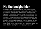 Honorable Mention I Multiple PhotosMykal McEldowney, The Greenville News Begin: Mo the bodybuilder