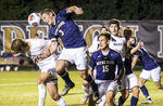 Third Place | SportsAndrew Dye, Winston-Salem JournalNotre Dame senior midfielder Connor Klekota (3) heads away a Wake Forest corner kick on Wednesday, November 11, 2015 in Winston-Salem, N.C.