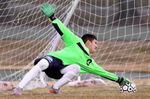 Honorable Mention I SportsMark Dolejs, Daily DispatchSouthern Vance goal keeper Pablo Nopal makes a stop for one of his saves in the first half against Bunn on Thursday.