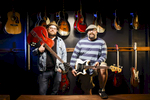 Third Place | PortraitAndrew Dye, Winston-Salem JournalFrom left, Michael Slawter and Drew Rush, co-owners of Heyday Vintage Guitars & Amps, pose for a portrait in their new space on Tuesday, December 8, 2015 in Winston-Salem, N.C.