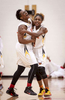 Honorable Mention I SportsAndrew Dye, Winston-Salem JournalWinston-Salem Prep's Chrisalyn Boston (32) and Jada Craig (4) celebrate winning the Northwest 1A Championship on Friday, Feb. 19, 2016 in Walkertown, N.C.