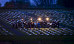 First Place | FeatureAndrew Dye, Winston-Salem JournalJudges Comments: Photographer used distance and natural light to movingly capture the 244th Easter Sunrise Service of The Moravian Church in a graveyard. Nice reaction from a 4th grader during spelling bee. Third used nice light and composition during an Army-wide competition for field kitchens. HM captured nice moment during a science festival.One of many brass bands plays antiphonally with other bands spread throughout Old Salem during the procession portion of the 244th Easter Sunrise Service of The Moravian Church on Sunday, March 27, 2016 in Winston-Salem, N.C.