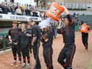 Honorable Mention I SportsMark Dolejs, Daily DispatchHuntington Beach head coach Benji Medure is doused with ice water by Nick Pratto (32) as they celebrate beating Chaminade Prep 7-2 for the 2016 National High School Invitational championship game.