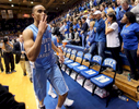 Second Place | Multiple PhotosMark Dolejs, Daily DispatchNorth Carolina Tar Heels forward Brice Johnson (11) celebrates as he leaves the court after the Tar Heels beat the Duke Blue Devils 76-72 in their game at Cameron Indoor Stadium.