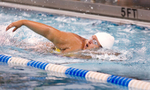Third Place | Sports Photo Story Mark Dolejs, The Daily DispatchRaShawnna Blackwell competes in the 100 meter freestyle.