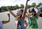 POY: Runner UpJill Knigt, The News & ObserverFiona Hiller, 9, center, and Katelyn Dunn, 7, right, dance with their friends before the start of Taylor Swift's concert Tuesday, June 9, 2015 outside of PNC Arena in Raleigh, N.C.