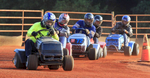 Sports POY: Runner UpEthan Hyman, The News & ObserverLawnmower racers can get some speed, up to 60 or 70 mph, during the Ellerbe Lions Club Lawn Mower Racing in Ellerbe, N.C. Saturday, June 6, 2015.