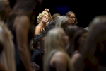 Third Place | Feature Photo StoryMadeline Gray, North State Journal Miss Cabarrus County Melanie Robinson adjusts her hair as the 2016 Miss North Carolina Scholarship Pageant contestants rehearse for the preliminary competition at the Duke Energy Center for the Performing Arts in Raleigh.
