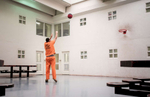 Honorable Mention | Feature Photo Story Allison Lee Isley, Winston-Salem Journal / Randolph Community College An inmate shoots some hoops in the recreation room Friday, Apr. 29, 2016 at the Rowan County Detention Center in Salisbury, N.C.