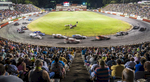 Second Place | Sports Photo StoryAndrew Dye, Winston-Salem Journal Fans look on as the second Modified Series race of the evening begins on Saturday, June 25, 2016 in Winston-Salem, N.C.