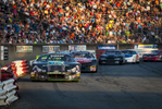 Second Place | Sports Photo StoryAndrew Dye, Winston-Salem Journal Street Stock Series driver Taylor Robbins leads the field down the back stretch on Saturday, June 11, 2016 in Winston-Salem, N.C.