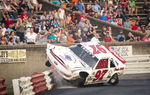 Second Place | Sports Photo StoryAndrew Dye, Winston-Salem Journal Stadium Stock series driver Bryan Sykes hits the backstretch retaining wall after contact with Auston McElveen on Saturday, July 30, 2016 in Winston-Salem, N.C.