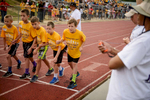 Photographer of the Year Andrew Craft, The Fayetteville Observer Elementary school kids line up for the 800-meter run during the Cumberland County Schools Super Fitness Field Day on Friday, May 13, 2016, at Reid Ross Classical School in Fayetteville, N.C. Super Fitness Field Day events include the following: curl-ups, standing long jump, rope skipping, shuttle run, 50-meter dash, 200-meter run and 800-meter run.