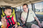 Student Photographer of the YearAllison Lee Isley, Winston-Salem Journal / Randolph Community College Denny Eaborn snaps his fingers and sings happy birthday with his grandson, Chase Oliver, 5, on their way home from day care Tuesday afternoon, June 14, 2016 in Salisbury, N.C.