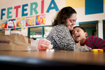 Student Photographer of the YearAllison Lee Isley, Winston-Salem Journal / Randolph Community College Judy Leal tickles her son Eduardo, 8, while visiting him during lunch Wednesday, Feb. 10, 2016 at Donna Leigh Loflin Elementary School in Asheboro, N.C.