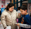 Student Photographer of the YearAllison Lee Isley, Winston-Salem Journal / Randolph Community College Judy says goodbye to her son, Eduardo, 8, after eating lunch with him Wednesday, Feb. 24, 2016 at Donna Leigh Loflin Elementary School in Asheboro, N.C.