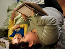 Student Photographer of the YearAllison Lee Isley, Winston-Salem Journal / Randolph Community College Judy and her son, Eduardo, 8, read a book before going to bed Tuesday night, Feb. 16, 2016 at their home in Asheboro, N.C.